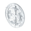 100-150mm Wall Ventilation Grille Cover with Net And Shutter Adjustable Diameter