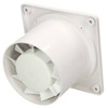 100mm 4 Inch Silent Bathroom Extractor Fan Standard DISK Ventilator