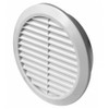 Wall Ventilation Grille Cover with Anti Insect Net 100-150mm Adjustable Diameter from Air vent grilles and covers