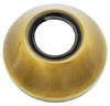 Antique Brass Pipe Cover Collar Cone 3/4 (25mm) Valve Tap Rose 25mm Height from Pipe covers  collars