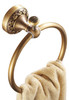 Antique Brass Bathroom Toilet Round Towel Ring Dressing-Gown Wall Mounted Hanger from Towel rails and hangers
