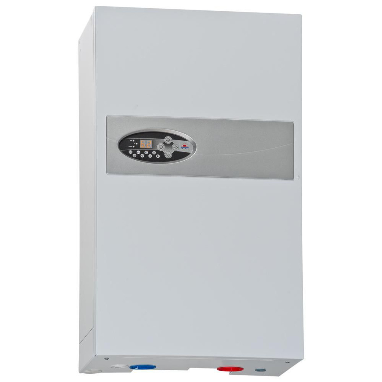 Electric Central Heating Flow Boiler Heater Installation Hot Water 15 Kw Power From Boilers