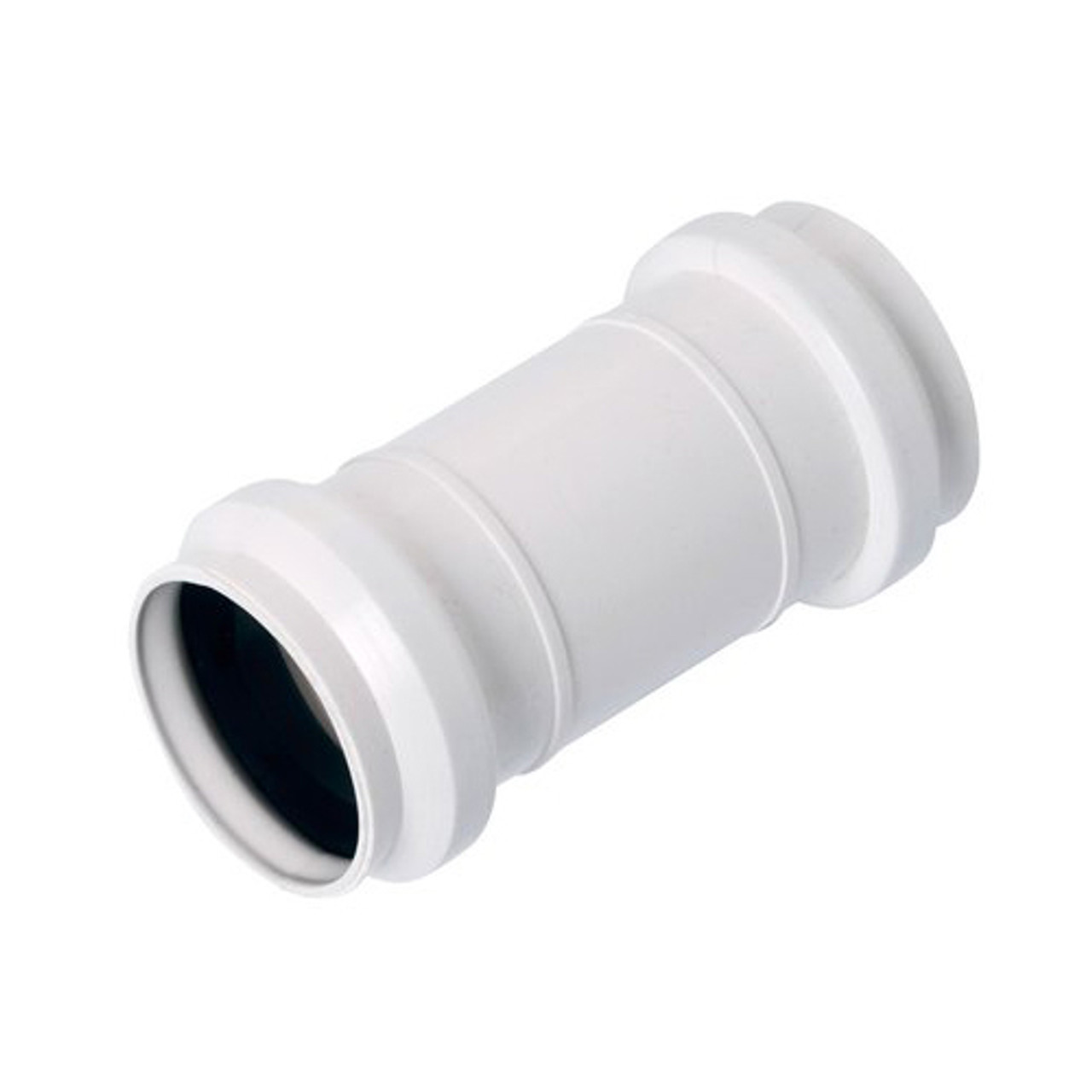 50mm Waste Pipe Muff Joiner Couping Pipe Drain Fittings Sewage Installation