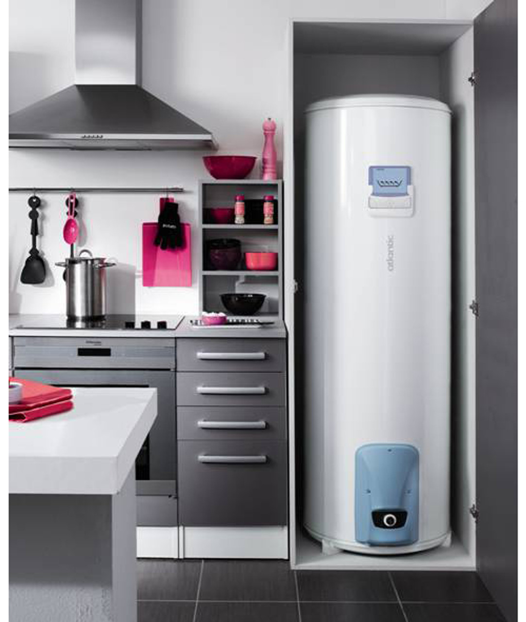 efficient high power electric water heater boiler 300l with smart controls