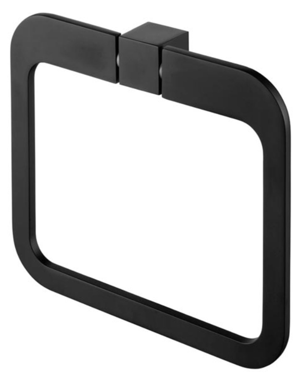 492d632062 Wall Towel Ring Round Dressing-Gown Hanger Bathroom Black Powder Coated  Zamak from Towel rails ...