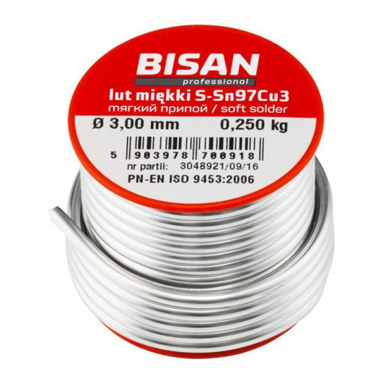 250g Lead Free Plumbers Solder Wire Soft S-sn97cu3 2.5mm For Copper Wiring Near Plumbing on