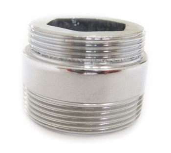 Solid metal adaptor for water saving kitchen faucet tap aerator 22mm to 24mm from Tap accessories