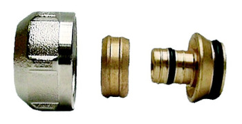 10 x 3/4 to 16mm pex pipe compression fittings adaptor connector 10 pack from PEX fittings