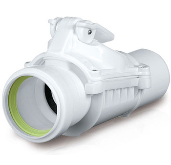Version A 50mm Anti Flood Backwater Check Valve Backflow Prevention from Waste drain check valves