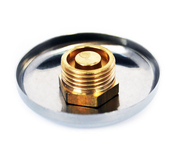 Chrome pipe hole cover cap 1/2 bsp thread to hide cover up to 55mm diameter from Pipe covers  collars