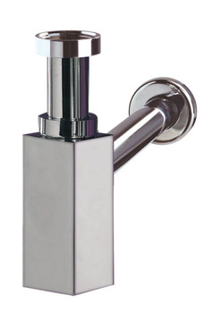 Wirquin Chrome-Plated Brass Waste Bottle Trap Drain Plumbing Bathroom Siphon from Drain waste traps