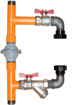 Calido Boiler Protection Pump Bypass System with Differential Valve 1'' Standard Variant from Heating manifolds