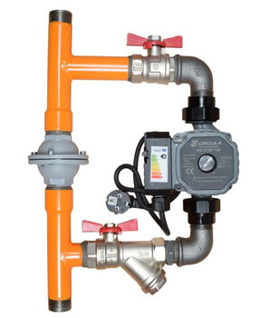 Calido Boiler Protection Pump Bypass System with Differential Valve 1'' Variant With Pump from Heating manifolds