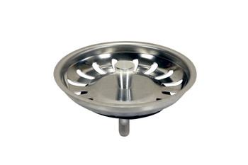 Kitchen Basin Drain Dopant Sink Waste Strainer Plug Steel 83mm from Drain waste traps