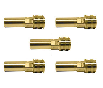 John Guest JG Speedfit 5x Male Stem Adaptor 15 x 1/2 from John Guest fittings