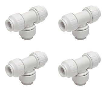 John Guest JG Speedfit 4x Equal Tee 15mm from John Guest fittings