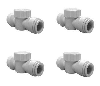 John Guest JG Speedfit 4x Emergency Shut-Off 15mm x 3/4 from John Guest fittings
