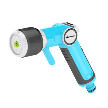 Multifunctional Garden Gun Hand Sprinkler with Non-gradual Water Flow Regulation from Garden hose guns
