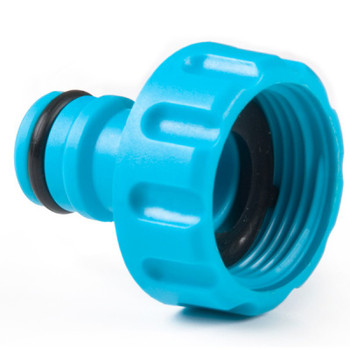 1 hozelock compatible threaded tap connector with hose end connector from Garden hose accessories