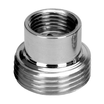 Pipe Connection Reduction Fittings Chrome Female x Male 3/8x3/4 from Thread reducers and adaptors