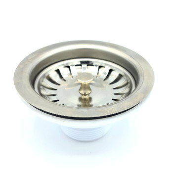 115mm Stainless Steel Strainer Basket for Kitchen Sink Basin Drain Waste Trap from Drain waste traps