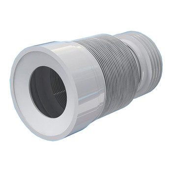 230-500mm Toilet WC Flexible Toilet Waste Pipe Connector Extension Harmonica Water Outlet from Waste pan connectors