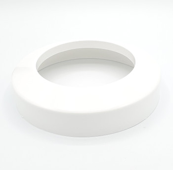 Toilet Soil Pipe Collar 110mm White Cover Ending from Waste pan connectors