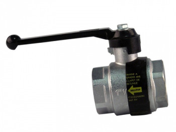 1 BSP Caleffi 3230 Ballstop Ball Valve With Check Non-Return Valve from Ball valves