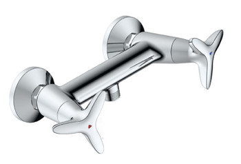 Very High Quality Wall Mounted Chrome Plated Bathroom Shower Mixer from Shower mixers