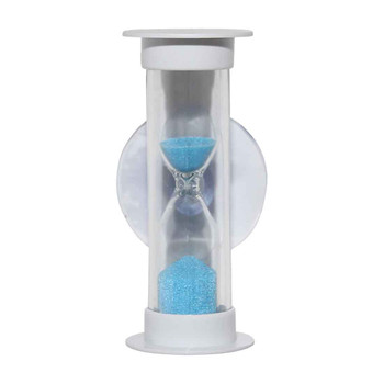 Hourglass 5 minute shower timer water saving tooth brushing timer from Toothbrush holders