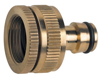 Made of Brass Universal Multi-Purpose Garden Tap Connector Female 1/2 or 3/4 from Garden hose accessories