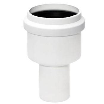 Straight Pipe Diameter Increasing Connector Sewage Sewerage System 40 mm to 50mm from Waste pipe and fittings