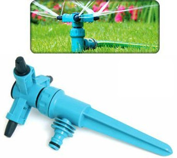 Adjustable speed rotating 3 arm sprinkler garden/lawn 360 degree from Garden sprinklers