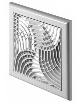 Modern Design Wall Ventilation Grille Cover With Net and Shutter 150x150mm from Air vent grilles and covers