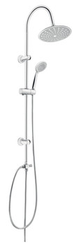 Comfortable Shower Bathroom Set Column with Movable Round Rainfall Water Head from Shower sets