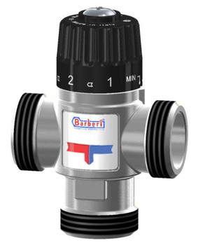 Thermostatic Mixing Valve Mid Port Mixed Water 30-65C 3,5m3/h 5/4 Male BSP from Mixing valves