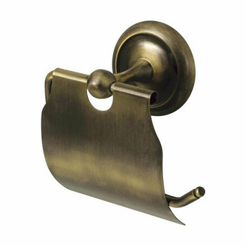 Retro Bathroom Antique Brass Wall Mounted Toilet Paper Rack WC Roll Holder from Toilet roll holders