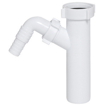 Drain Waste Trap Pipe Connector 1 1/2 BSP x 40mm with Single Dishwasher Input from Drain waste traps