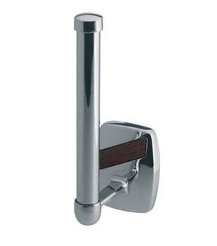 Vertical Toilet Paper Rack WC Roll Holder Bathroom Chromed Zamak Wall Mounted from Toilet roll holders