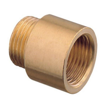 1 Inch Pipe Thread Extension Brass Female x Male Pipe Extender