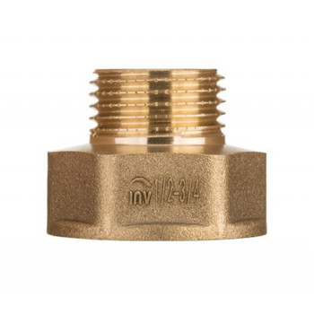 Brass Pipe Hexagon Reduction Fittings Female x Male FxM 3/8 1/2 3/4 1 Inch