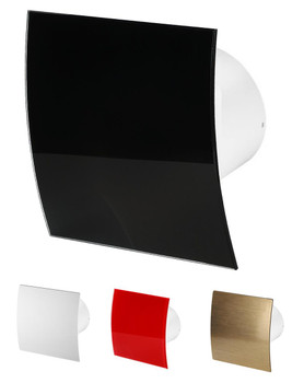 100mm Bathroom Extractor Fan Escudo IPX4 Various Colours