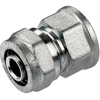 PEX Compression Fittings Muff 16/20mm x 1/2 3/4 Female BSP