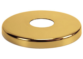 21mm 26mm Pipe Gold Colour Steel Valve Tap Pipe Cover Collar 8mm High