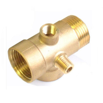 5-Way Brass Pump Fittings Connector Pressure Check Vessels Gauges 1 x 1/4 BSP from Pumps