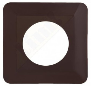 Light Switch Socket Finger Cover Plates Surround Edge  Brown Colour from Switches and sockets