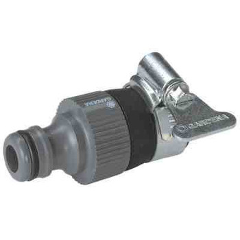 Gardena round tap connector for taps without thread 14 to 17mm dia garden hose from Garden hose accessories