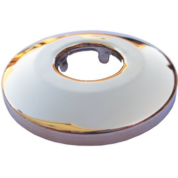 1/2 (21mm) brass golden plated cone stainless steel pipe collar rose from Pipe covers  collars