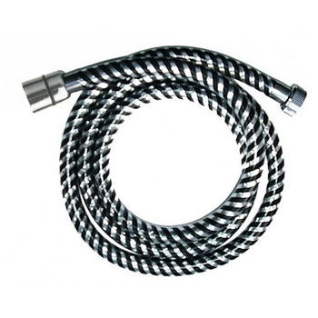 Chromed Plastic Flexible 1,5m Bathroom Shower Hose 1/2 x 1/2 with Gaskets from Shower heads