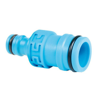 2-way connector 1 to standard - 1 to 1/2 or 3/4 hozelock quick connect heavy duty hose system quickfit from Garden hose accessories